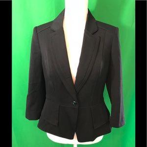 White House black market black business jacket